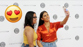 Nazanin Kavari attends BeautyCon LA 2018