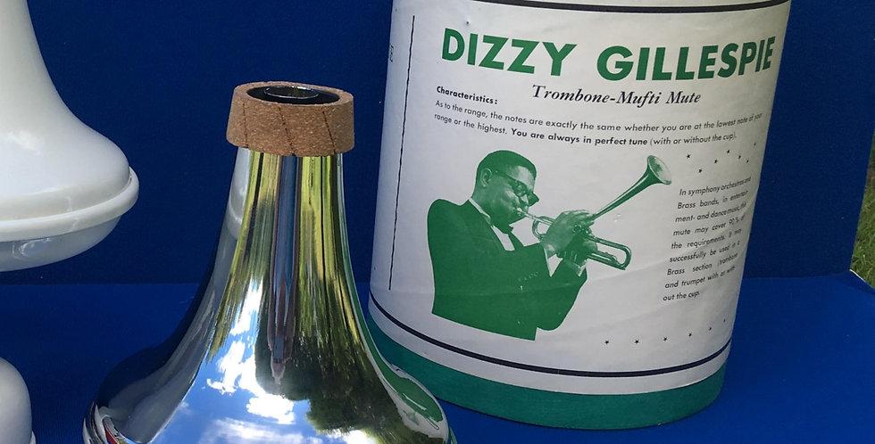 Dizzy Gillespie Model Chrome Plated Copper