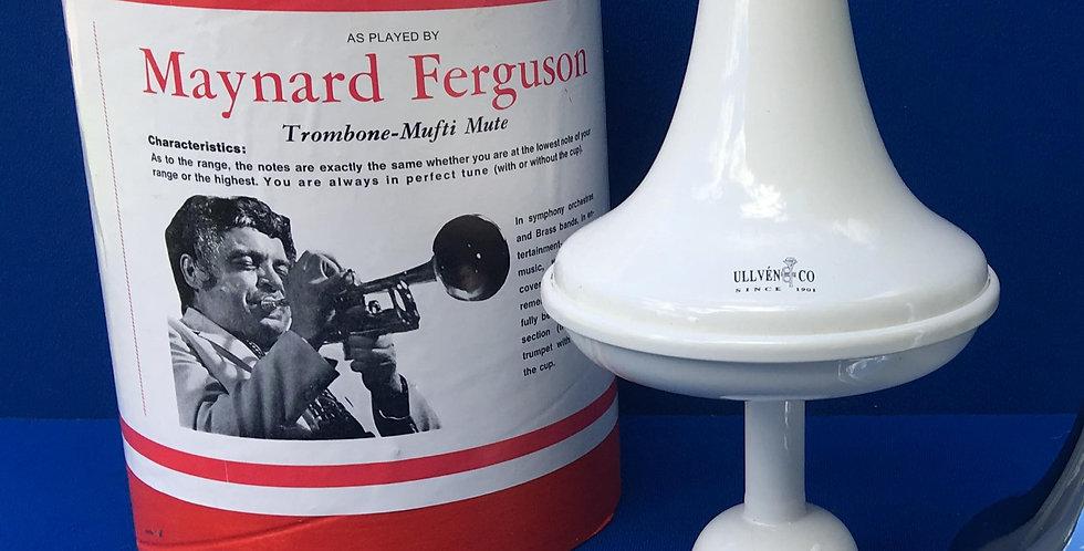 Maynard Ferguson model, White Powder Painted Aluminium