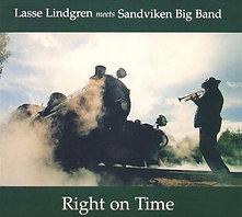 Right on Time - Lasse Lindgren meets Sandviken Big Band
