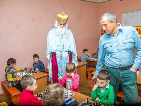 Святий Миколай на  турнірі дошкільнят
