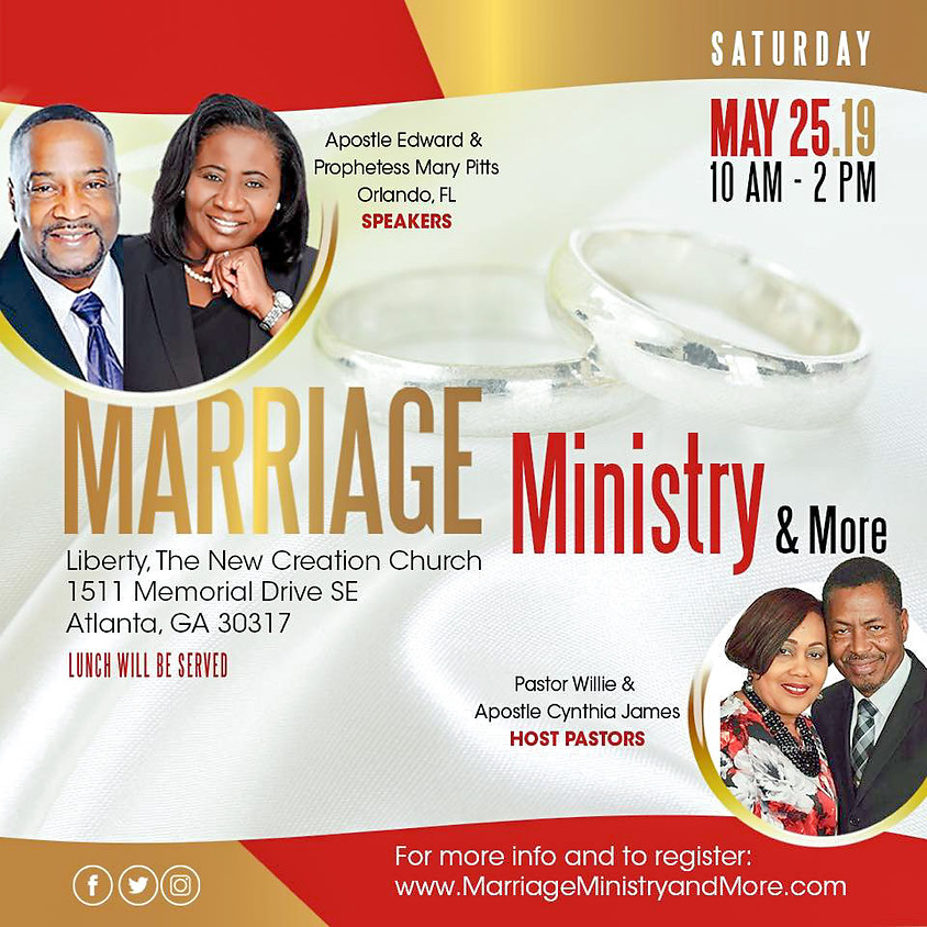 MARRIAGE, MINISTRY & MORE