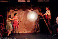 James and the Giant Peach L to R: Caroline Ullman, Eloise O'Keefe, Daniel Begin