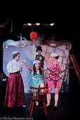 James and the Giant Peach Clockwise: Nick Inglin, Eloise O'Keefe, Caroline Ullman, Jessica Price