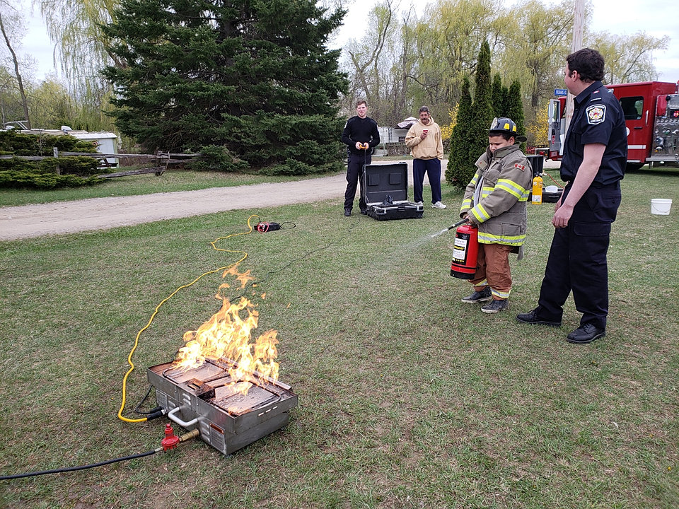 Free Fire Demonstration Stock Photo - FreeImages.com  |Fire Figher Demonstration
