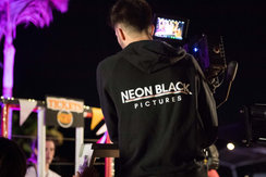 Neon Black Pictures - film behind the sc