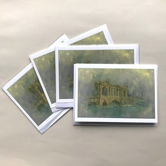 The Palladian Bridge II: Set of 4 cards
