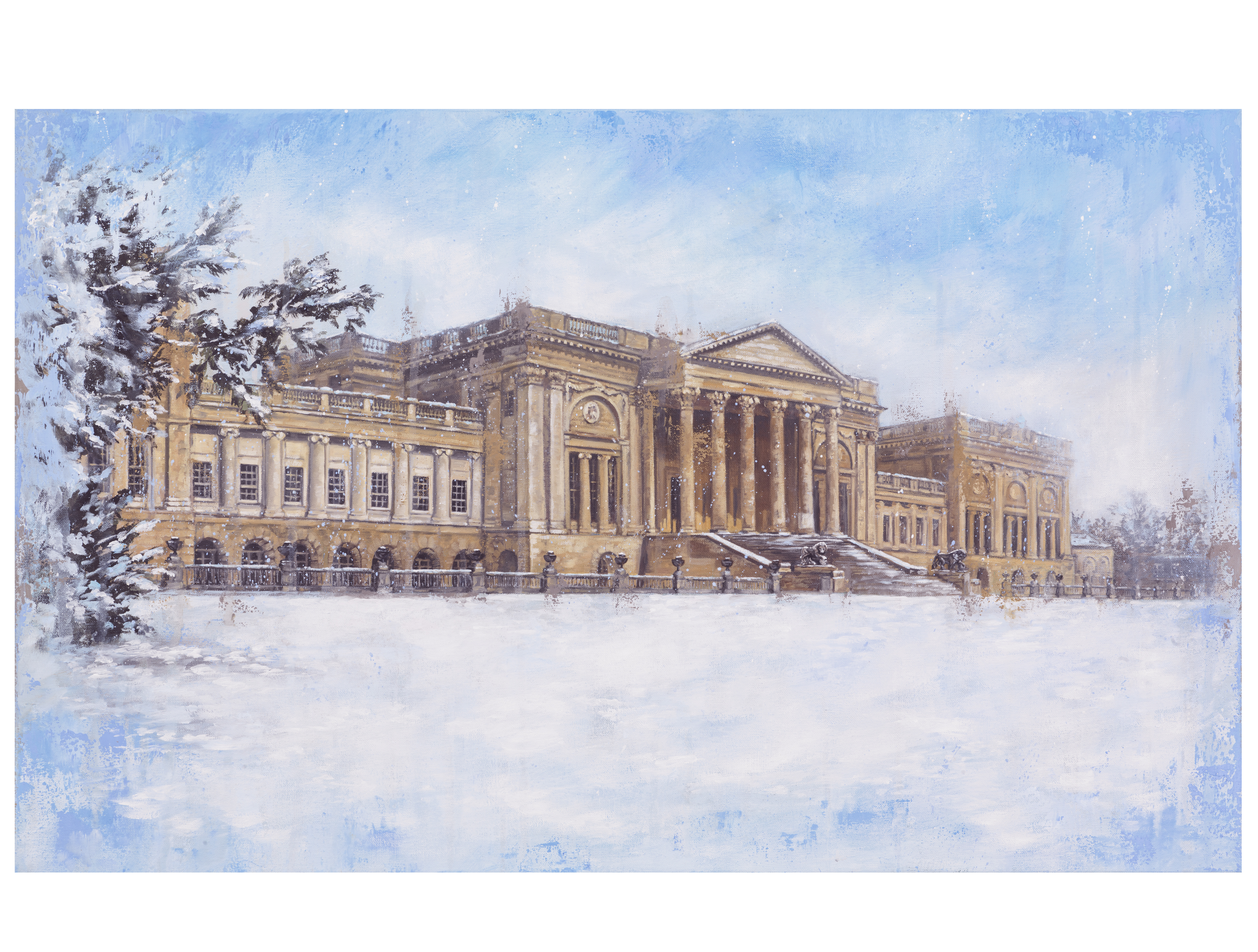 Stowe in the Snow
