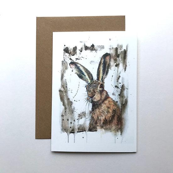 Yarkand Hare card