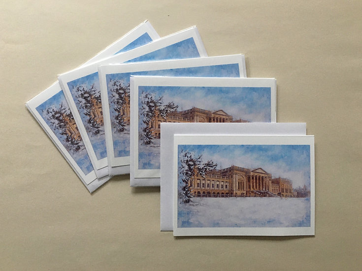 Stowe in the Snow: Set of 5 cards
