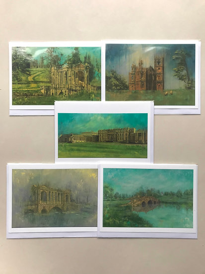 Stowe Set of 5 cards