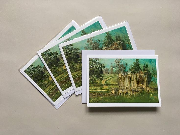 The Palladian Bridge: Set of 4 cards
