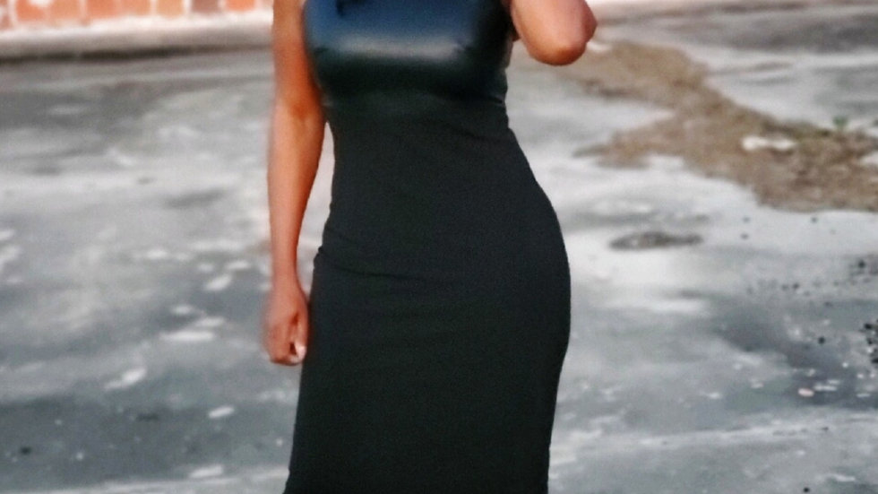 All Weather Leather Dress
