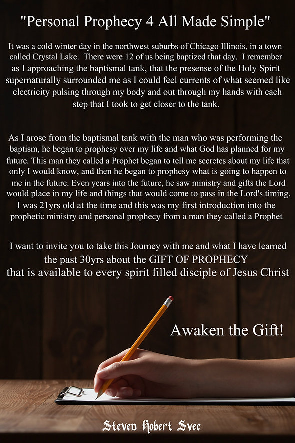 Awaken the Gift of Personal Prophecy Steven Svec