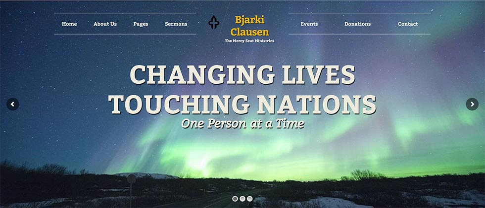 Bjarki Clausen - The Mercy Seat Ministries