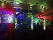 Legacy of Sound| video mapping screen hire Truss hire laser hire