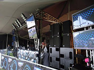 Legacy of Sound | Sound | Stage | Backline | Screens | Lighting | DJ