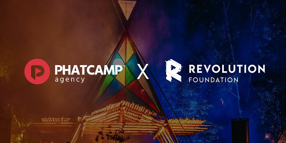 Phatcamp x Revolution Foundation Pleinvrees