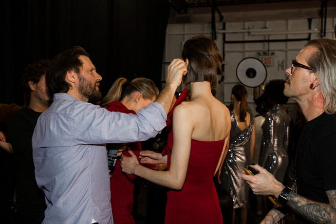 Julia Bahlsen Backstage Photography