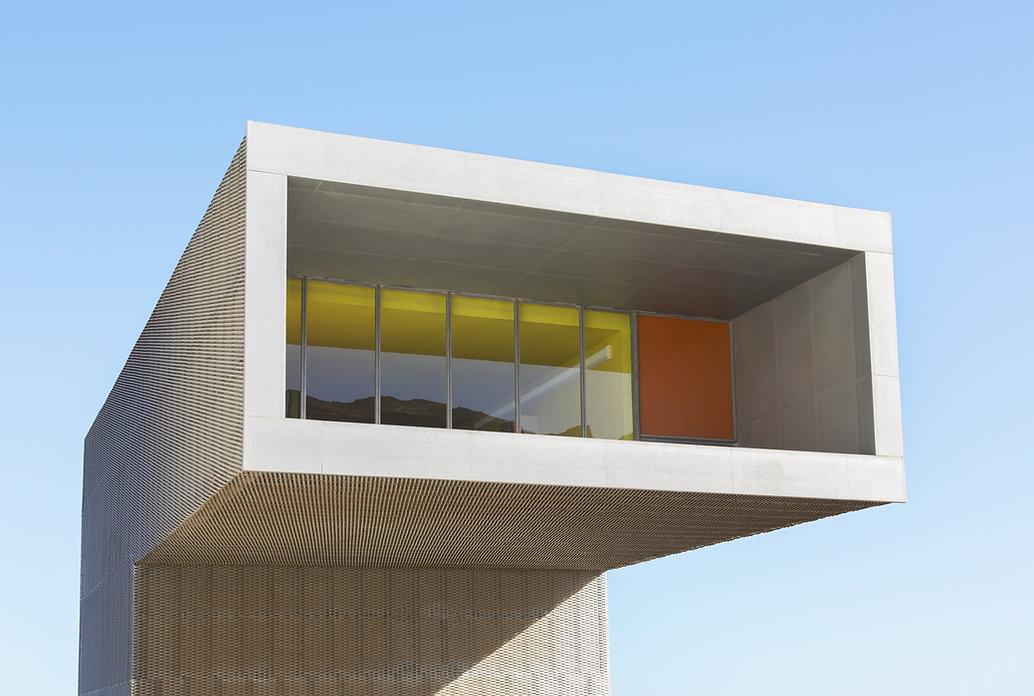 Moderno edificio frontale