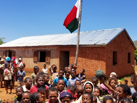 Some Good News at Last -  a New School Project Has Started in Madagascar