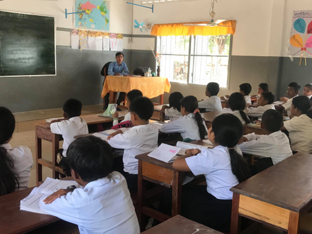 New Computers for the Teachers in Cambodia