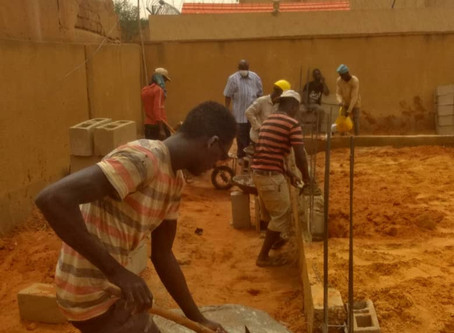 Brick by Brick - The New School Building in Niger is Slowly Rising