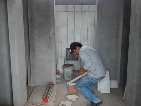 New sanitary facilities for the school in Peru