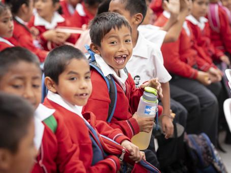 Opening ceremony in Nuevo Chimbote, Peru