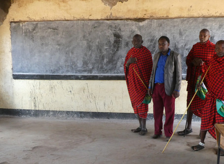 Another School Project Getting Started in Lemooti, Tanzania