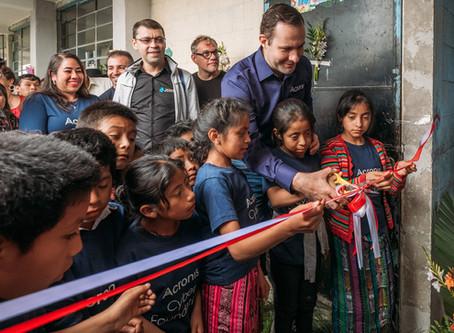 Opening of New School in San Antonio, Sololá, Guatemala