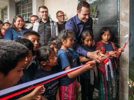 Opening of New School in San Antonio, Sololá, Guatemala