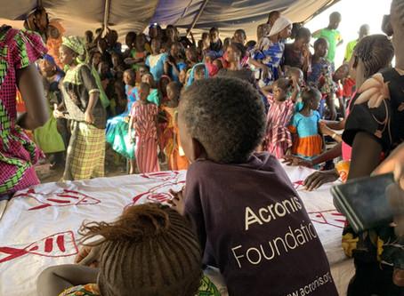 Acronis School in Senegal: The Opening Ceremony