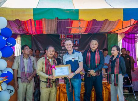 Acronis School in Cambodia: The Opening Ceremony