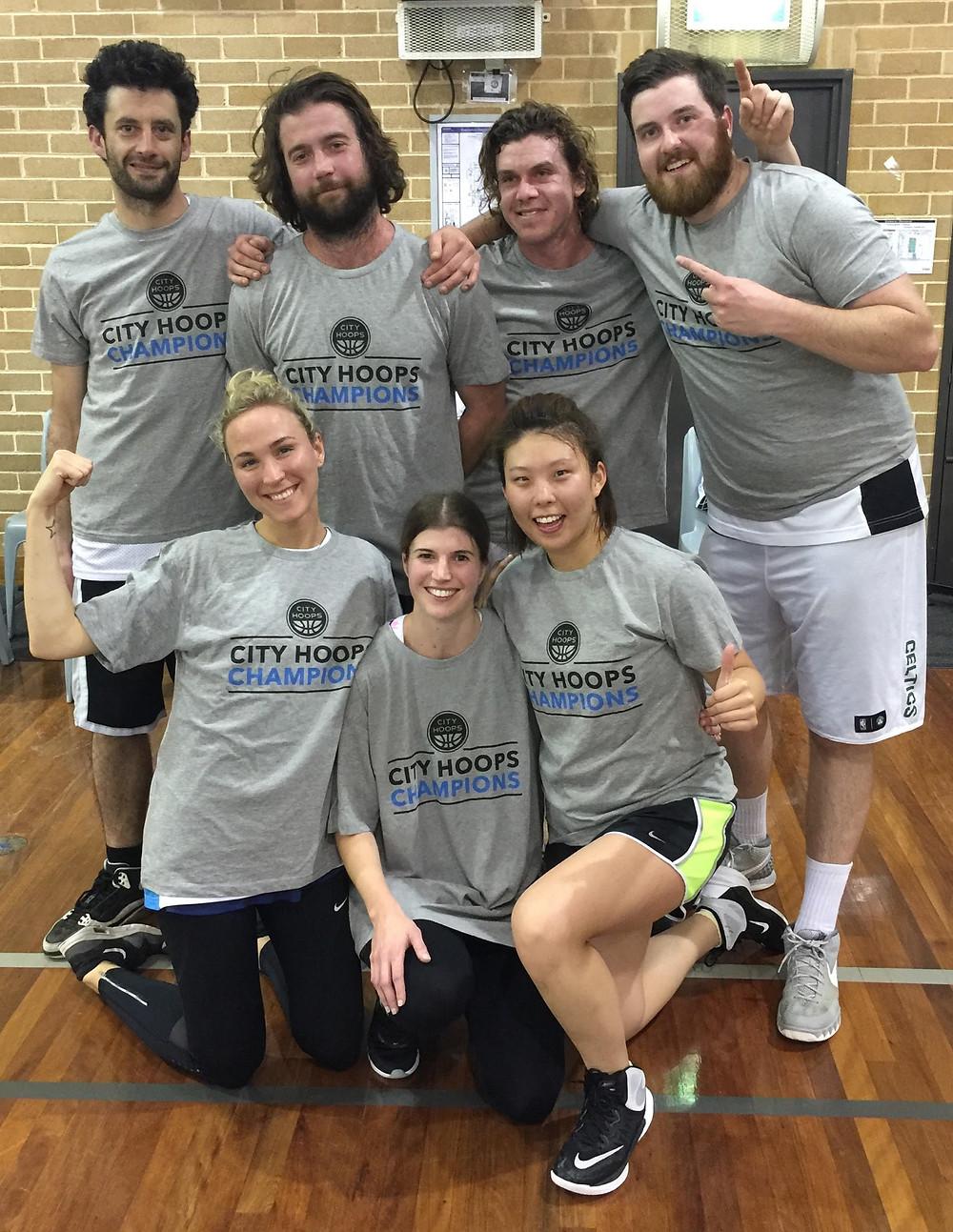 Social Mixed basketball