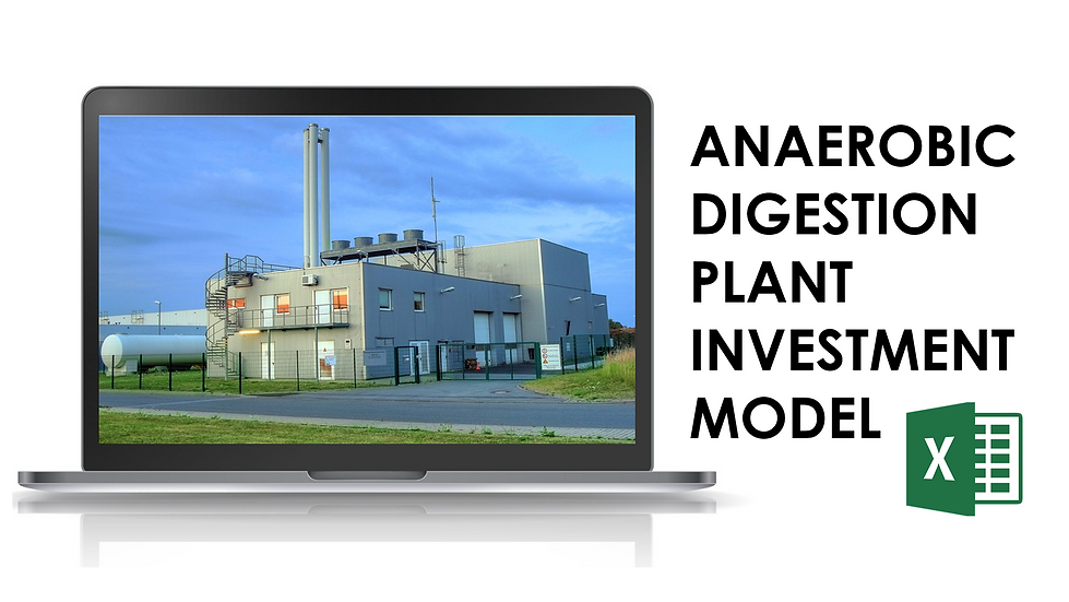 Anaerobic digestion plant model
