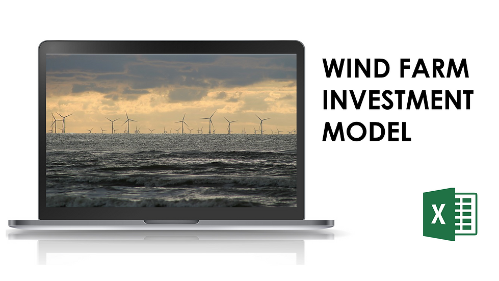 Wind farm investment model