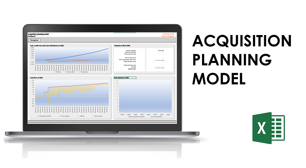 Acquisition planning model