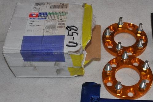 Проставки 15 мм. шаг резьбы 1.25 PCD 114.3x5