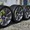 Thumbnail: комплект кованных колес 18 дюймов, разноширокий.