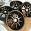 Thumbnail: комплект кованных колес 19 дюймов разноширокие перед 8.5, зад 9.5 резина 235х35,