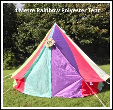 4 Metre Polyester Rainbow