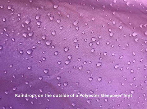 Raindrops Polyester Tent