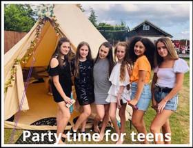 Sandstone Teen Party in Essex