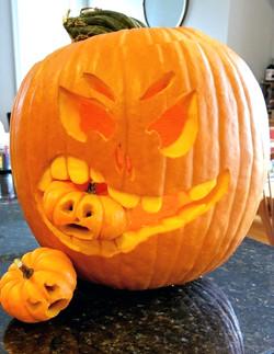 Pumpkin Eating Little Guys