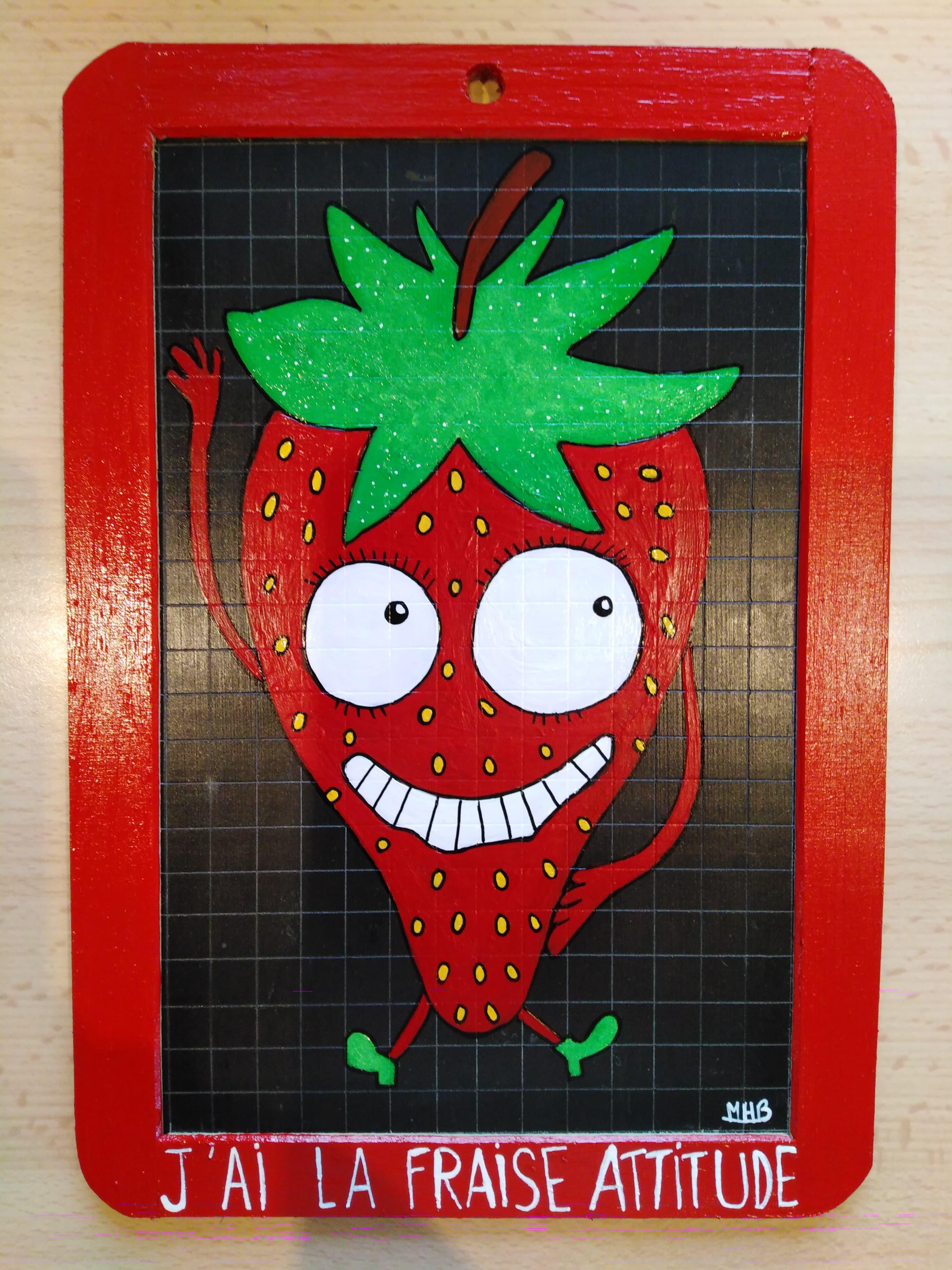 fraise attitude
