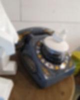 téléphone vintage nordique
