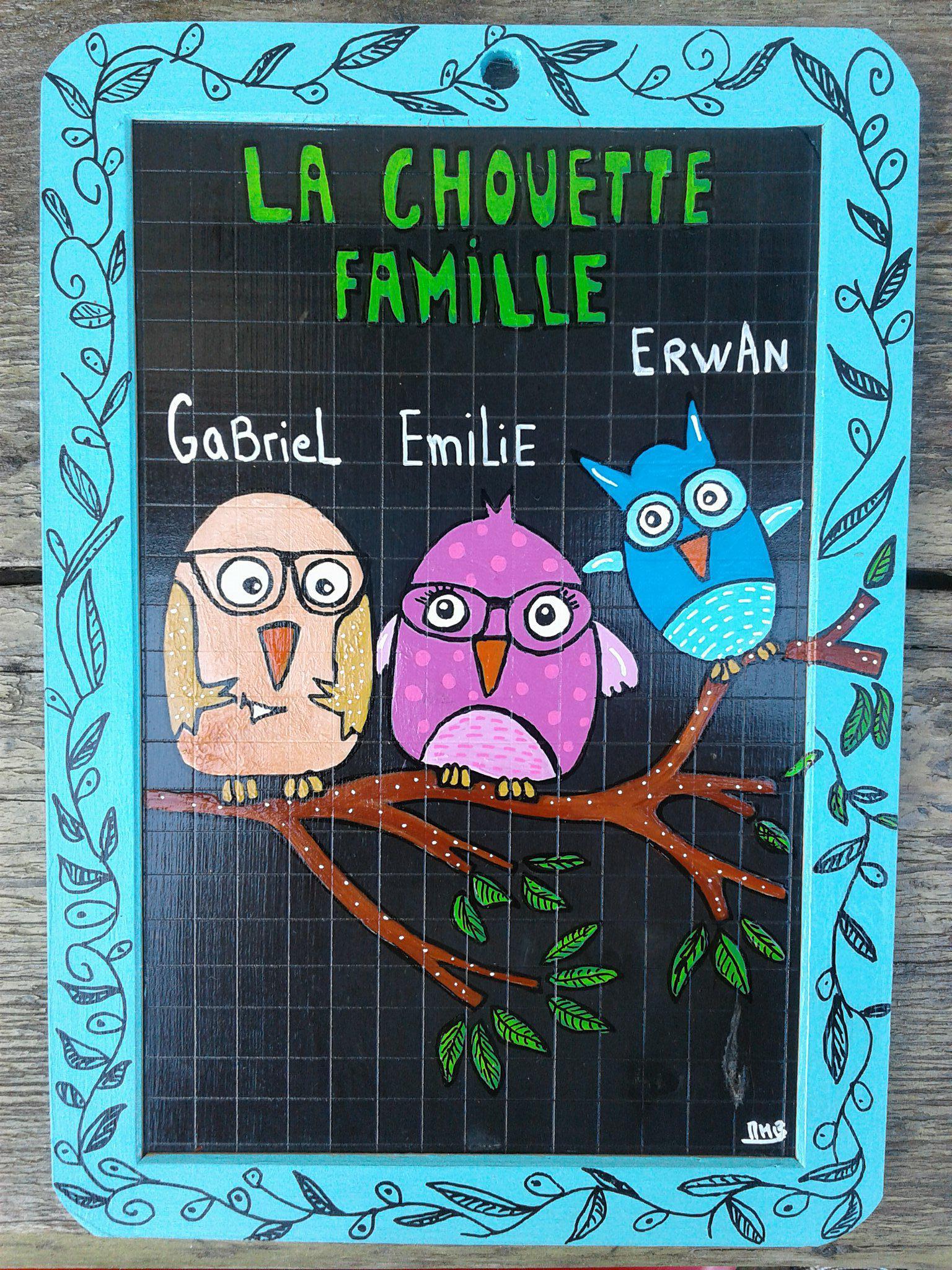 une chouette famille