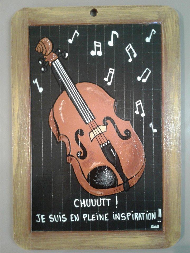 un violon inspiré