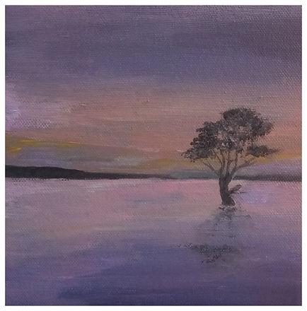 purple haze - acrylic 2018